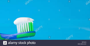 Light Up Toothbrush For Adults Toothbrush Blue Gel Toothpaste Stock Photos Toothbrush