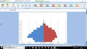 How To Create A Pyramid Chart In Excel How To Create A Pyramid Graph With Excel