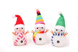 Yakii Led Snowmen Lamp Color Chaging With Colorful Hat