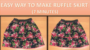 Simple Skirt Pattern With Elastic Waist Magnificent Decorating Ideas