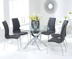 6 chair dining table sets dining tables round glass dining table for 6 glass dining room 6 chair dining table