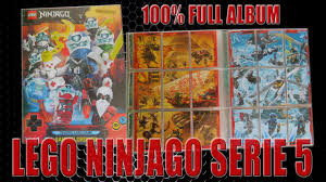 LEGO Ninjago Serie 5 Trading Card Game | MAPPENUPDATE | alle 252 Karten +  alle 27 limitierte Karten - YouTube