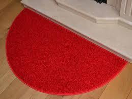 new half moon rug semi circle bright red mat carpet semi circle rug large