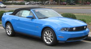 File:2010 Ford Mustang GT convertible 1 -- 09-07-2009.jpg ...