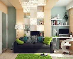 office interior decor. Home Office Lounge Green Blue Interior Decor I