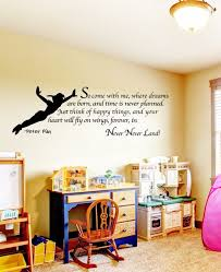 peter pan wall quotes quotesgram