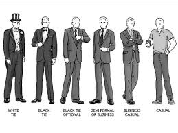 The Appropriate Mens Attire For Every Occasion Business Insider