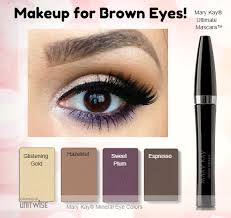 have brown eyes you are so lucky you can play with just about any
