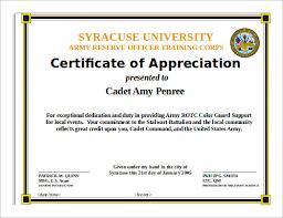 Certificate Of Appreciation Free Download Editable Certificate Of Appreciation Template Best Free Sample