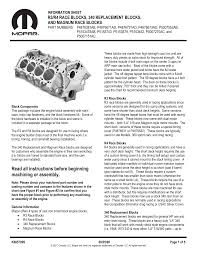 Read All Instructions Before Beginning Machining Or Assembly