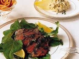 Cooking Light Seared Sliced Beef Sirloin 14 Oz Seared Rib Steak With Arugula