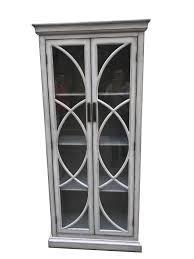 rustic curio cabinet. Unique Rustic Rustic Antique Grey Curio Cabinet To U