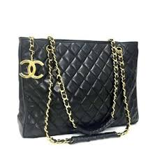 Chanel Black Lambskin Shopping Tote - Tradesy & Chanel Vintage Lambskin Quilted Tote in Black Adamdwight.com
