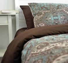 brown duvet cover queen. Unique Queen 2018 Brown Blue Classical Bedding Sets Queen King Size Western Vintage Home  Textile Long Staple Cotton Sheets Duvet Cover Adult From Linannanmp  In R