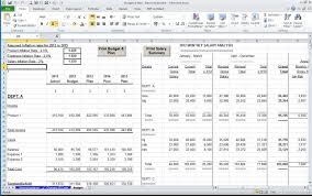 accounting excel template management accounts departmental model accountancy templates