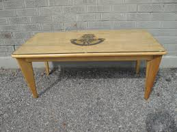 snyder s mcm vintage birch coffee table