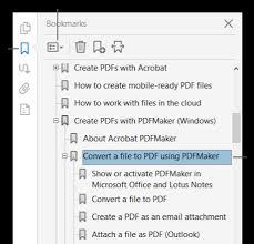 Navigating PDF pages, Adobe Acrobat