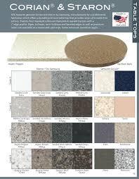Staron Color Chart Genuine Corian Staron Solid Surface Tops