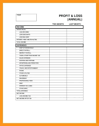 Restaurant Profit And Loss Template Best Of Free Method Statement