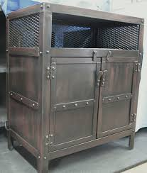 iron industrial furniture. overawe industrial nightstand furniture designs iron