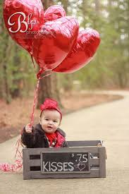 Valentine Baby Session crate - balloons - valentines - baby - photo shoot -  photography -