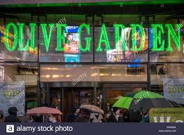 an olive garden restaurant in times square in new york is seen on friday december 28 2018 Â richard b levine