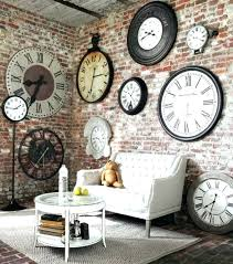 large round wall clock large wall clocks contemporary extra large wall clocks contemporary vintage clock led