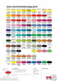 Details About Amsterdam Water Based Acrylic Spray Paint Choose From 46 Colours In 400ml Cans
