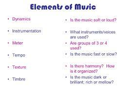 The simultaneous sounding of two or more tones. Basic Elements Of Music Ppt Video Online Download
