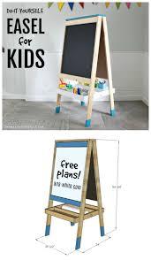 Easel Design Plans Diy Easel For Kids Diy Easel Wood Projects For Kids