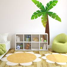 jungle tree wall sticker jungle wall stickers uk