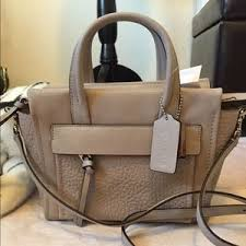 Coach Bags - Bleeker Leather Mini Riley Carryall Crossbody