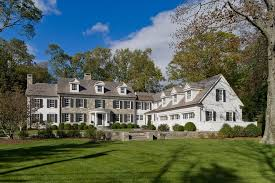 exterior colonial house design. L Shaped Stone Colonial Revival House Exterior Pinterest Plans Design D