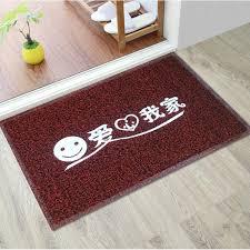 Thick door mats wire loop plastic rubber household foyer carpet