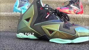 Design Your Own Lebron 11 Nike Lebron 11 Xi Kings Pride Parachute Gold Sneaker Review W Djdelz Dj Delz