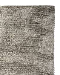 braided wool rug heathered grey