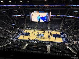 Fedex Forum Section 209 Memphis Grizzlies Rateyourseats Com