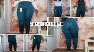 Fashion Nova Plus Size Jeans Try On Review 3xl