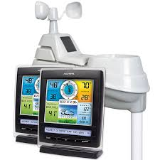 sharp weather station. pro 5-in-1 weather stations with dual displays sharp station