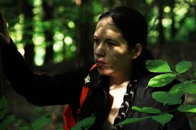 katniss cosplay photoshoot for a few glorious hours i was katniss hunting hiding and fighting and sam s brilliant photography caught it all on camera