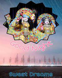 Good Night Radha Krishna Love Images HD ...