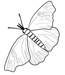 The little butterfly and the flowers. 40 Free Printable Butterfly Coloring Pages