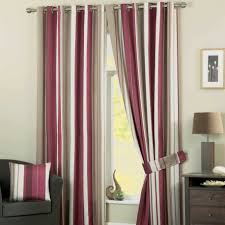 Striped Bedroom Curtains White Curtains Grey And Red Stripe Furnishing Ideas Pinterest