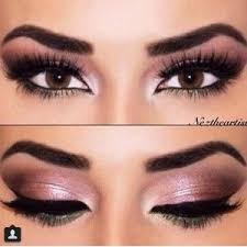 prom makeup for brown eyes and pink dress google search more