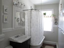 modern grey shower curtain. Cool Olympic Curl Bar In Bathroom Eclectic With Ceiling Mounted Shower Curtain Next To Grey Alongside Bathrooms And Paint Color Modern