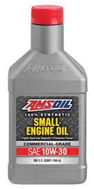 Kohler Engine Oil Chart Amsoil 10w 30 Synthetic Small Engine Oil
