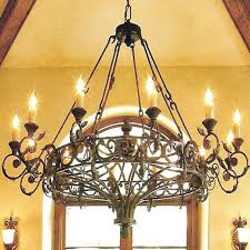 spanish style chandelier dining room chandeliers large