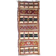 traditional rug patterned wool berber north african berber