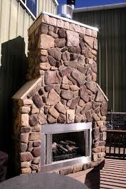fireplace veneer bailey s harbor fieldstone veneer