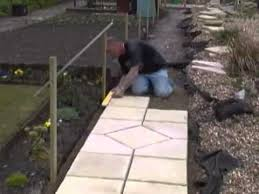 to lay a path in your garden